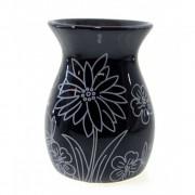 Аромалампа Цветок черная