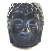 Аромалампа голова Будды черная