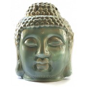 Светильник-аромалампа Голова Будды зеленая