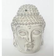 Аромалампа голова Будды бежевая
