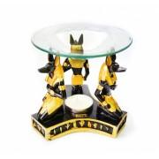 Аромалампа Три Анубиса со стеклянной чашей