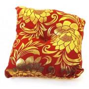 Подушка под поющую чашу красная