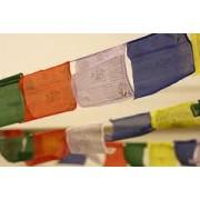 Традиционные тибетские молитвенные флажки лунгта средние