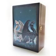 Шкатулка для карт Таро Драконы