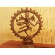 Шива-Натараджа. Бог Танца. Статуэтка из металла