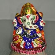 Ганеша. Статуэтка цветная для алтаря и интерьера