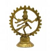 Статуэтка Шива танцующий бронзовый