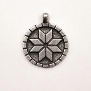 Алатырь Амулет с серебряным напылением — Концентрация энергии Богов для магов