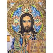 Икона ручной работы Золотой Иисус — Лесик Волошко