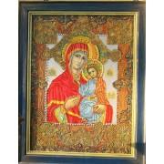 Икона ручной работы Золотая Богородица — Лесик Волошко